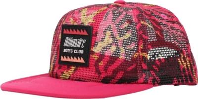 Billionaire Boys Club Pink Camo Trucker Hat