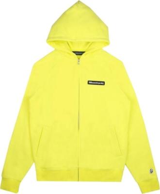 Billionaire Boys Club Yellow Zip Up Hoodie