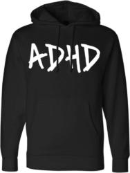 Black Adhd Hoodie Worn By Joyner Lucas