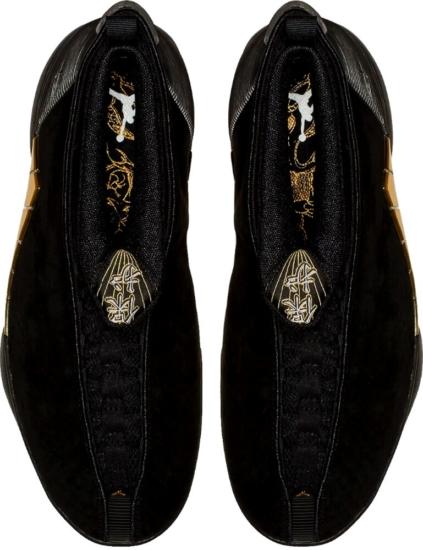 Black And Gold Jordan 15s