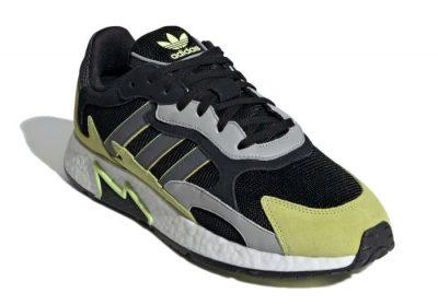 Black And Green Adidas Sneakers Worn By Kodak Black
