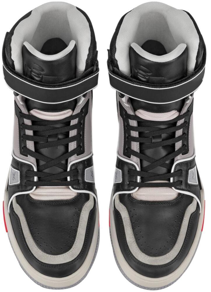 Black & Grey Sneaker Boot