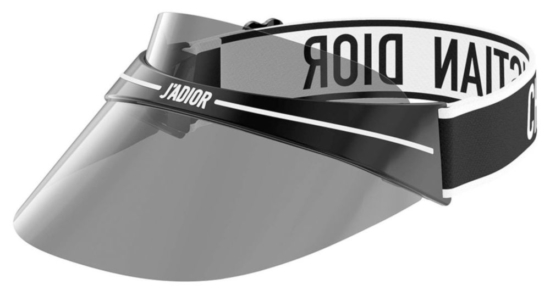 Black Christian Dior Visor Worn By Diddy