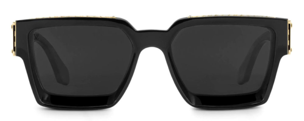 Black Louis Vuitton 1.1 Millionaires Sunglasses Worn By Tyga
