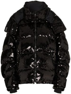 Black Sequin Puffer Coat Worn By Chief Keef In Spy Kids Music Video