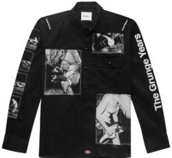 Black Takahiro Miyashita X Dickies Black Photo Patch Jacket