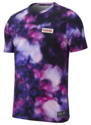Blue And Purple Tie Dye Esque Nike Shirt Worn By Kodak Black