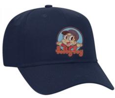 Navy 'Bobby Boy' Patch Hat