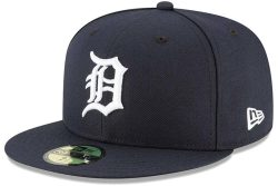 Blue Detroit Tigers New Era 59fifty Worn By Lil Baby