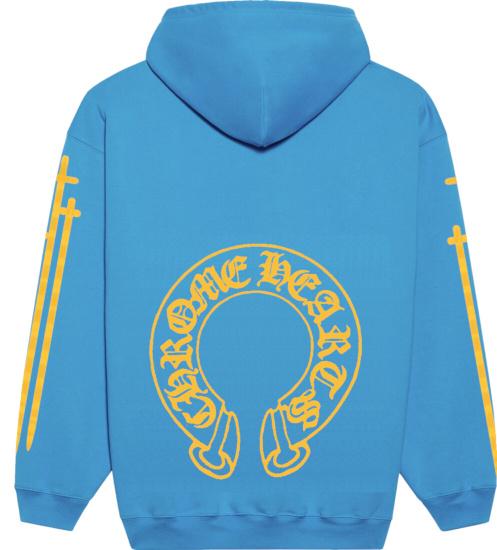 Blue Hoodie Back