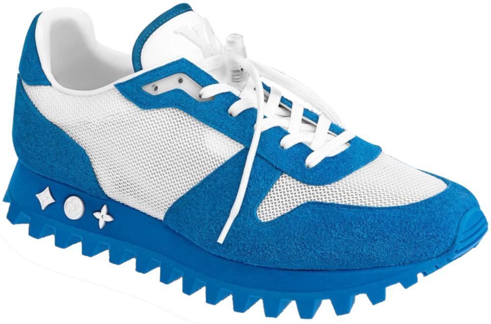 Blue Louis Vuitton Runner Sneakers
