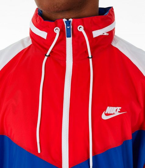 Nike Windrunner Jacket – Red, White