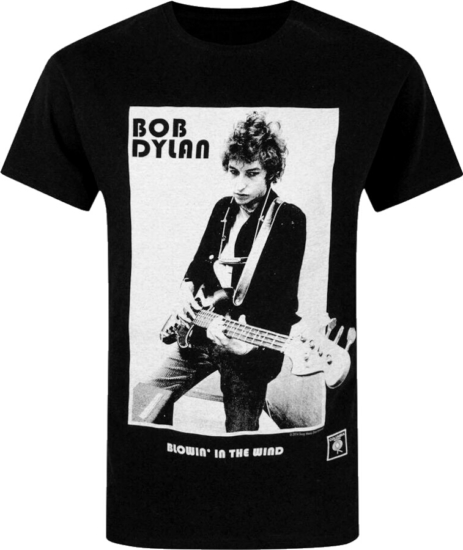Bob Dylan Blowing In The Wind T Shirt