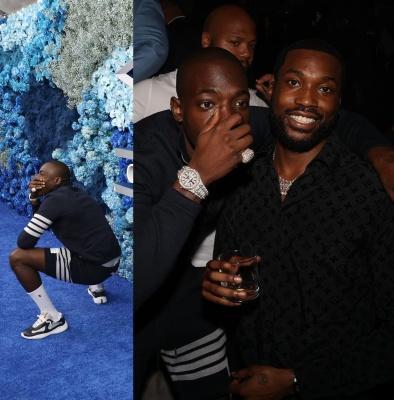 Bobby Shmurda Wearing A Thom Brown Quarter Zip And Short With Prada Sneakers