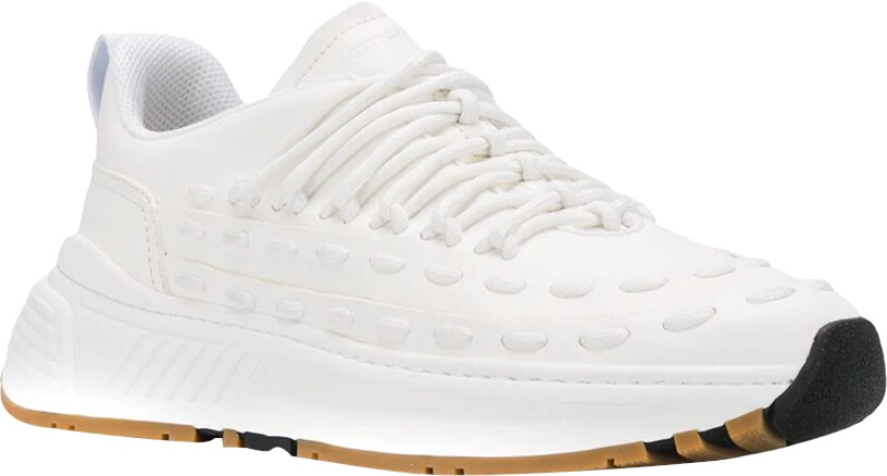 'Lace Speedster' White Sneakers