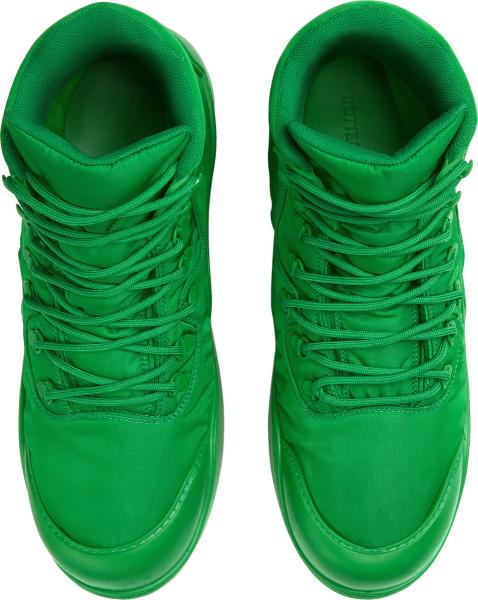 Bottega Veneta Green Puddle Bomber Boots