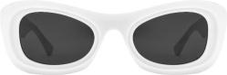 White Cat-Eye Sunglasses (BV1088S)