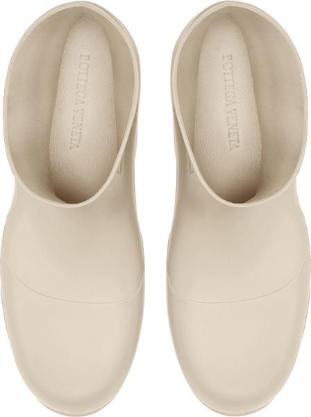 Bottega Veneta White Puddle Boots