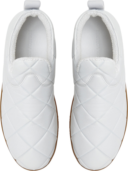 Bottega White The Quilt Sneakers