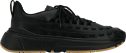 Bottenga Vanetta Black Lace Speedster Sneakers