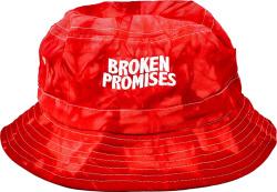 Broken Promises Red Tie Dye Bucket Hat