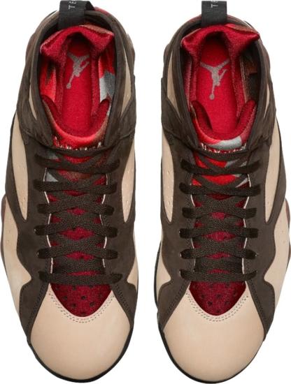 Brown And Beige Jordan 7s