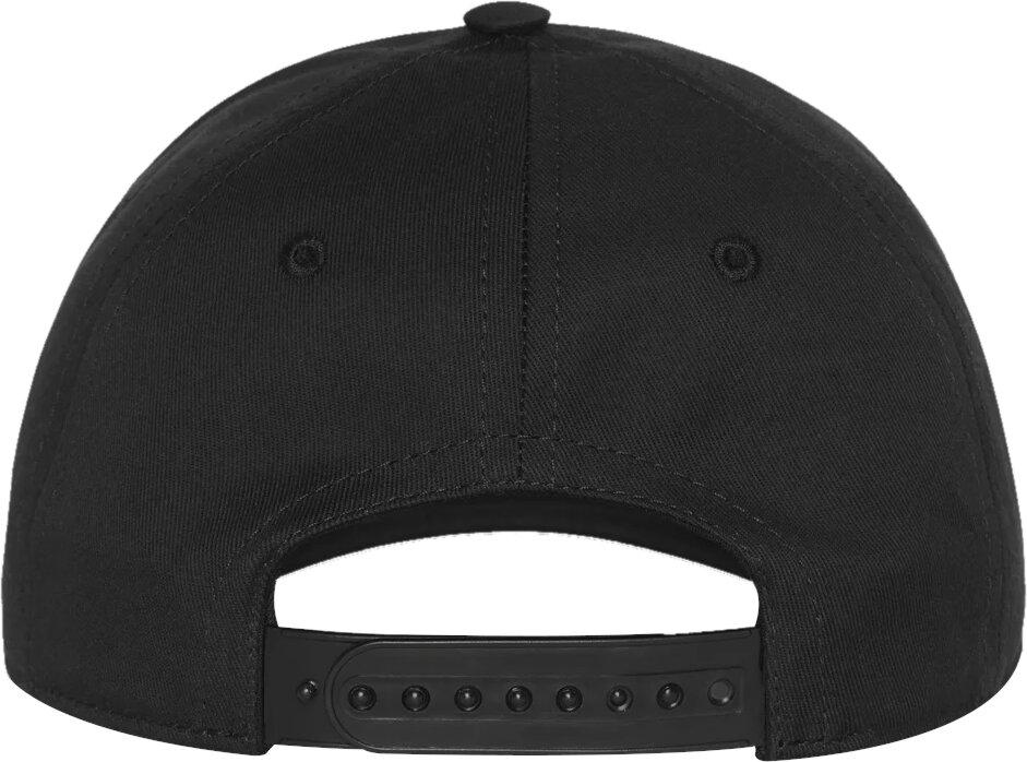 Logo Embroidered Black Hat