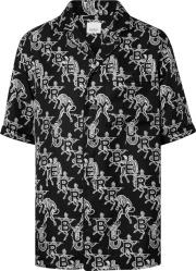 Burberry Black Mythical Alphabet Shirt