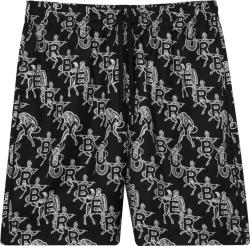 Burberry Black Mythical Alphabet Shorts