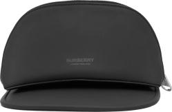 Burberry Black Zip Cargo Pocket Visor