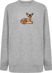 Burberry Grey Fawn Patch Sweatshirt
