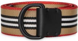 Burberry Icon Stripe D Ring Belt