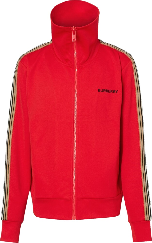 Burberry Icon Stripe Red Track Jacket