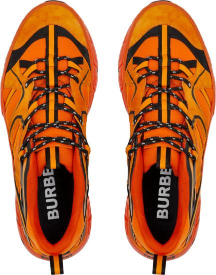 Burberry Oragne Sneakers