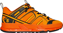Burberry Orange Union Sneakers