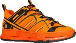 Burberry Orange 'union' Sneakers