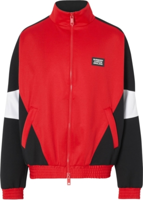Burberry Red Track Jacket
