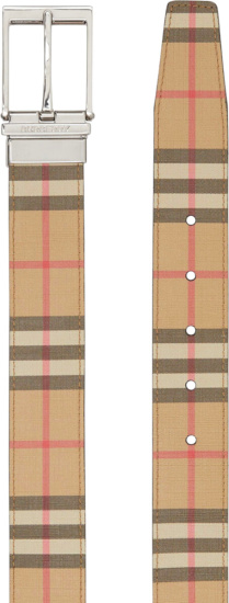Burberry Vintage Check Reversible Belt