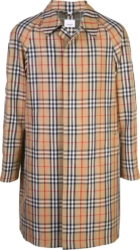 Burberry Vintage Check Single Breast Coat