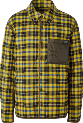 Burberry Yellow Check Shirt Jacket