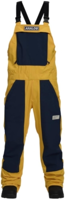 Burton Analog Overalls Yellow And Blue
