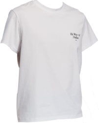 By Way Of Dallas T Shirt White