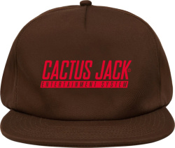 Cactus Jack Entertainment System Hat