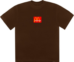 Cactus Jack X Mcdonals Brown T Shirt