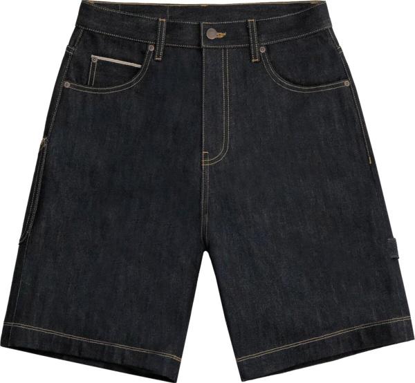 Cactus Jack X Mcdonals Cj Arches Denim Shorts