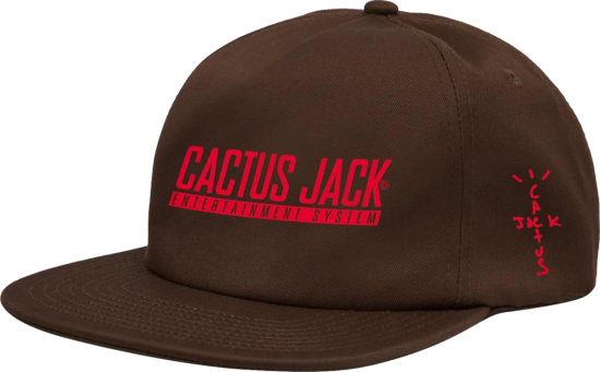 Cactus Jacket Brown Game System Logo Snapback