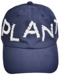 Cactus Plant Flea Market Navy Embroidered Plant Hat Worn By Pharrell