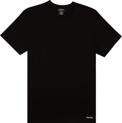 Calvin Klein Black Crewneck Undershirt