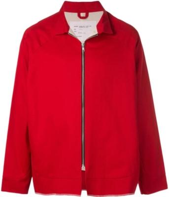 Camiel Fortgens Red Shirt Jacket