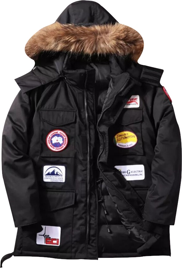 Canada Goose Allover Patches Parka